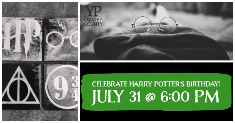 YP Harry Potter Birthday Party