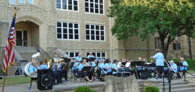 Winfield Municipal Band Outdoor Summer Concert Series